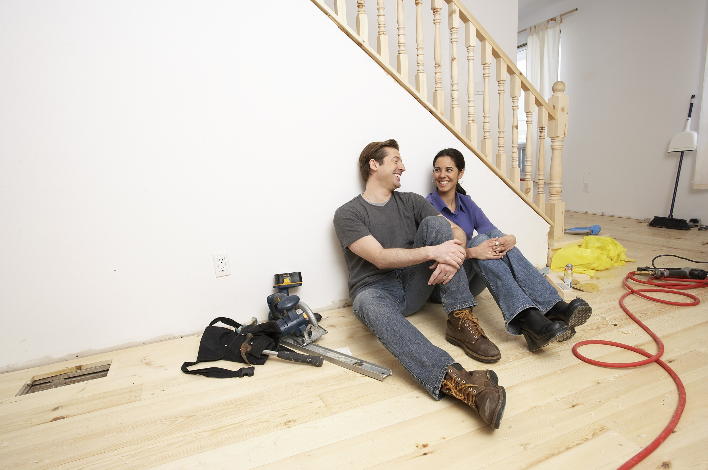 stress less during the home renovation process